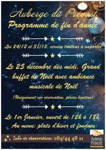 Programme fin d'année